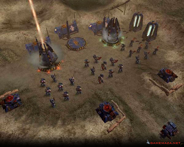Warhammer 40000 Dawn of War Gameplay Screenshot 1