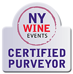 NY Wine Events Certified Purveyor