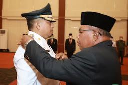 Yasin Ali Lantik Hasym Daeng Barang Sebagai Penjabat Walikota Ternate