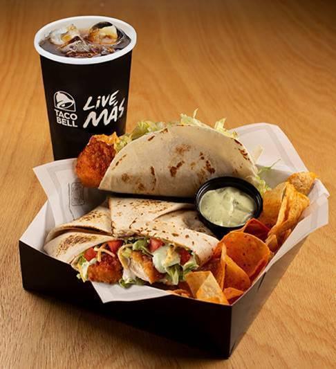 Taco Bell lança Crispy Chicken em edição limitada