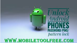 All Unlock Pattern Lock  Remover on Android