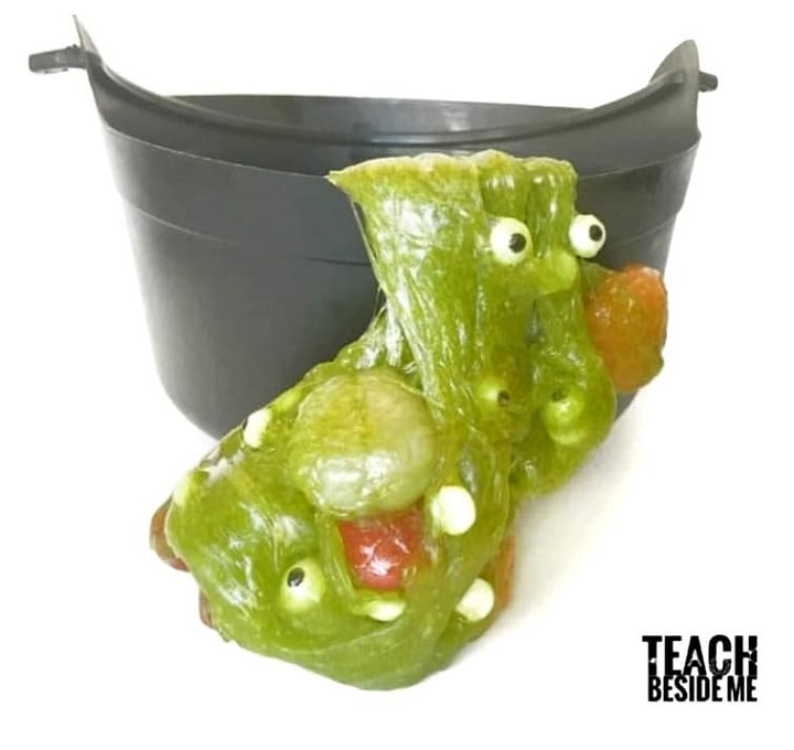 edible witches brew slime
