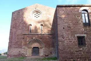 Castillo-Monasterio de San Miquel d'Esconalbou.