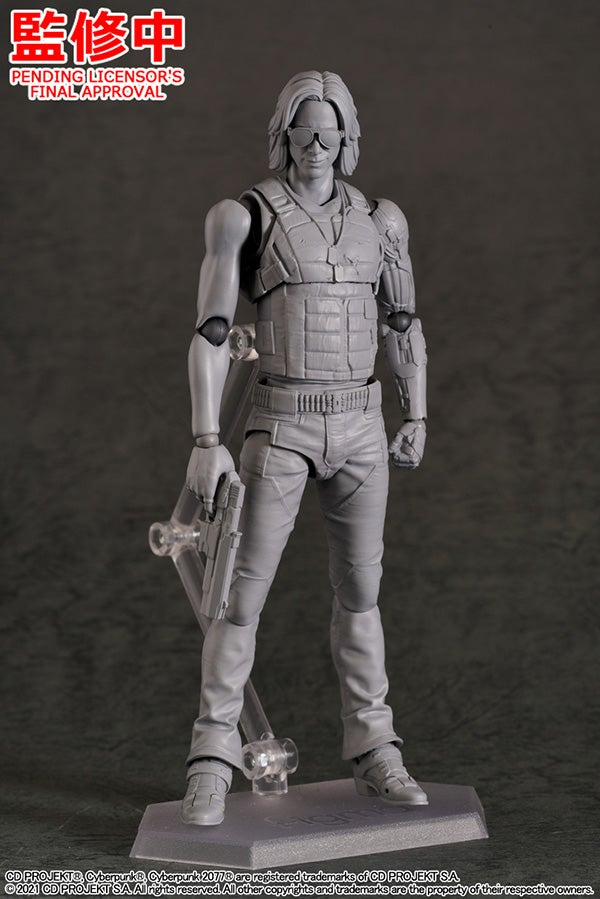 Cyberpunk 2077 - figma Johnny Silverhand (Good Smile Company)