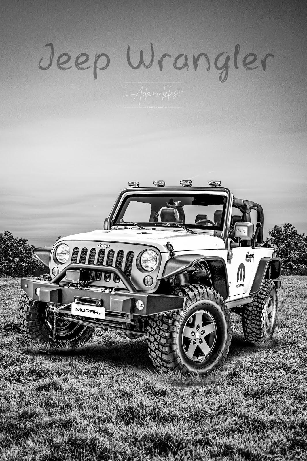 background jeep wrangler