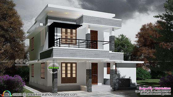 1175 sq-ft 3 BHK home plan