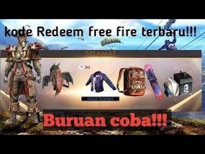 GRATIS!!! Kode Redeem Free Fire Terbaru 2019 Works!!