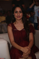 Pragya Jaiswal in Stunnign Deep neck Designer Maroon Dress at Nakshatram music launch ~ CelebesNext Celebrities Galleries 111.JPG