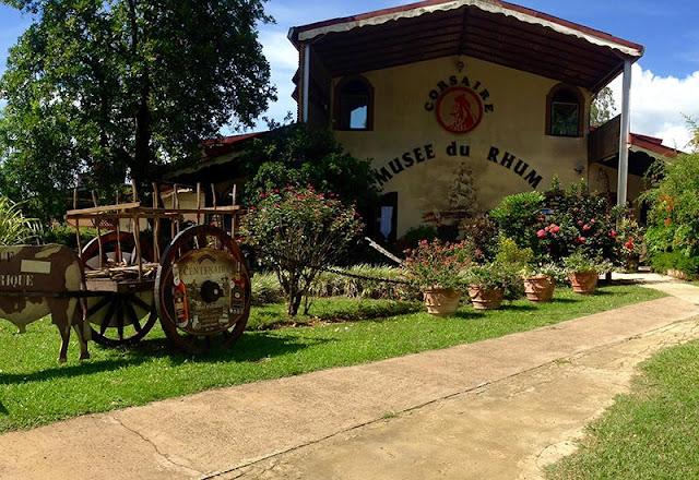 Accueil de la Maison du Rhum en Guadeloupe