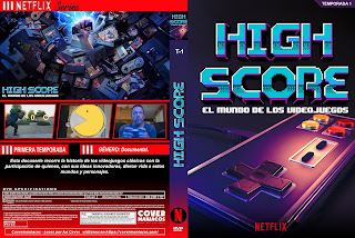 CARATULA HIGH SCORE 2020 [COVER DVD]