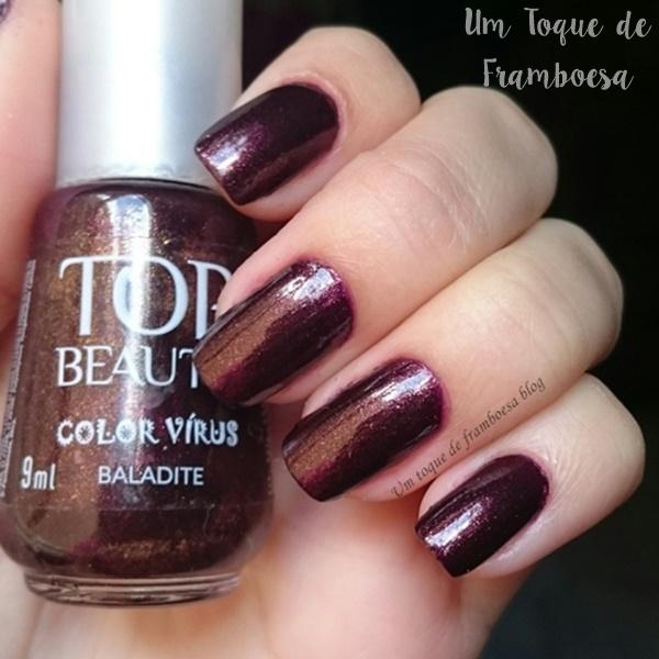 Esmalte Top Beauty Baladite coleção Color Virus