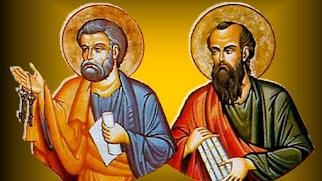 Cantos missa São Pedro e São Paulo