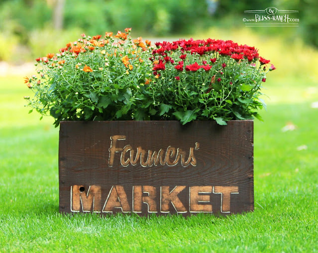 Farmers Market Crate Trash To Treasure Bliss-Ranch.com