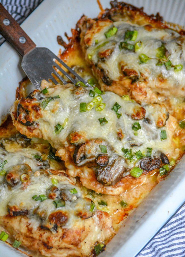 Chicken Lombardy #Chicken #Lombardy #Dinner #Easydinner #Healthydinner #Deleciousrecipe #Easyrecipe #Mozzarecipe
