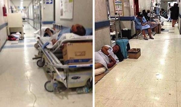 Sin camas, medicamentos y quirófanos los hospitales del EDOMEX...¿GRACIAS PRI?