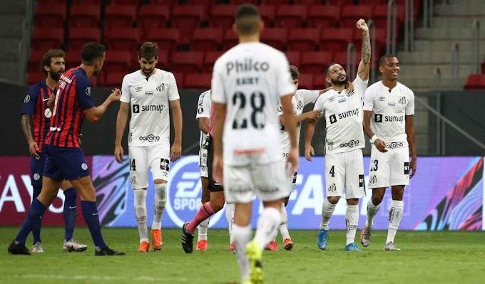 Santos Eliminó a San Lorenzo y Está En Fase De Grupos De La Copa Libertadores.