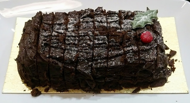 Marks & Spencer Festive Food - Christmas Yule Log