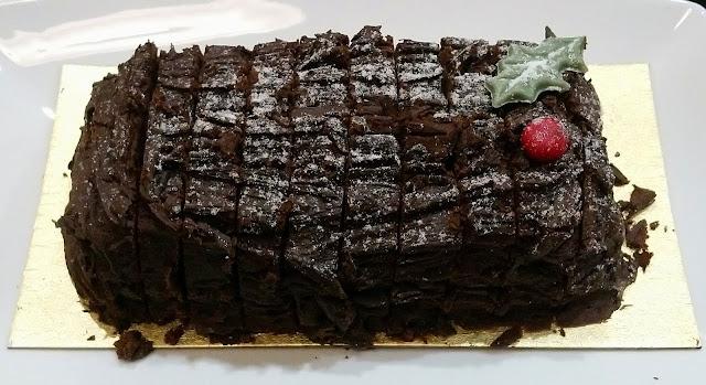 Marks & Spencer Festive Food - Christmas Yule Log