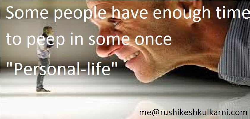 Interfering In Other People S Relationships Quotes: My Life- : Some People Have Enough Time To Peep In Some