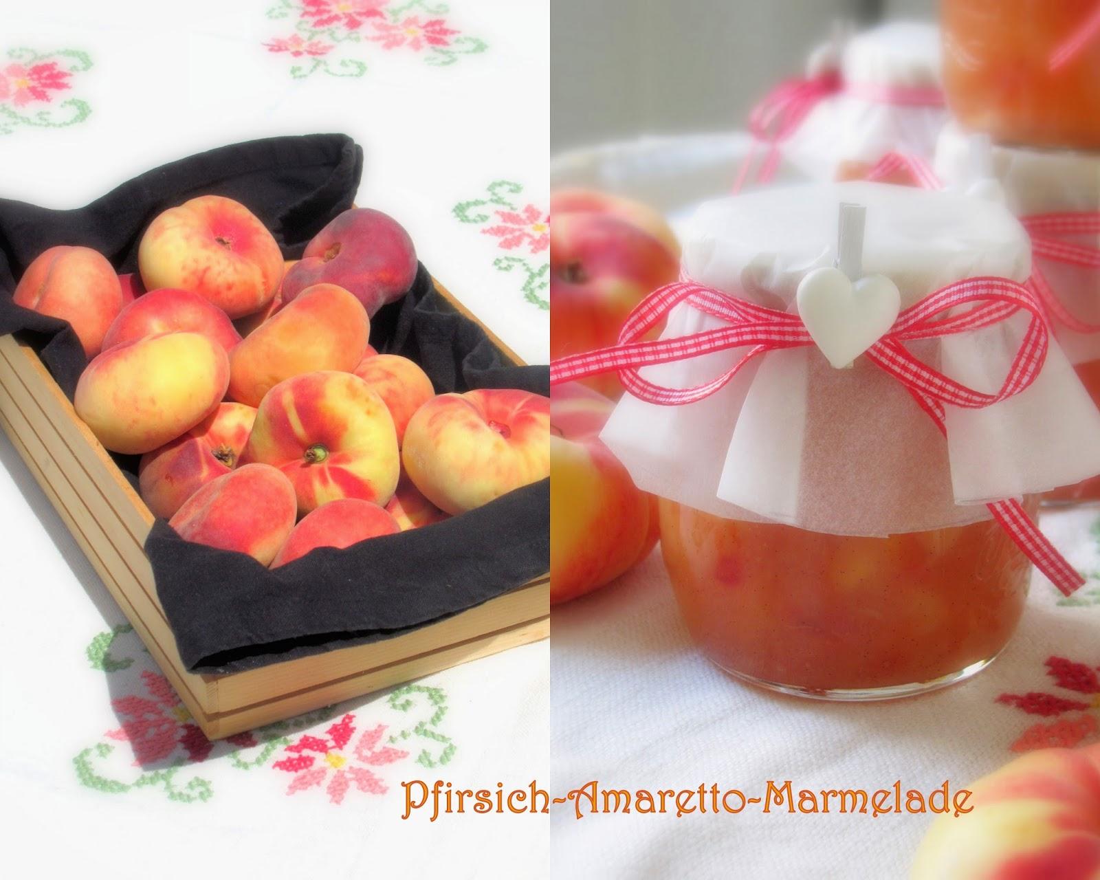 tra dolce ed amaro purer sommer im glas pfirsich amaretto marmelade mit vanille. Black Bedroom Furniture Sets. Home Design Ideas