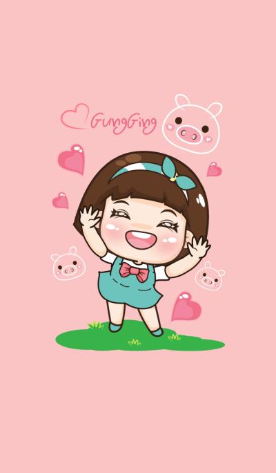 Aung Aing, Little Chubby girl
