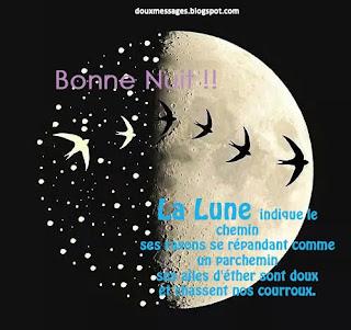 messages bonne nuit