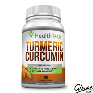 Product Review: VHealthTech Turmeric Curcumin with Bioperine