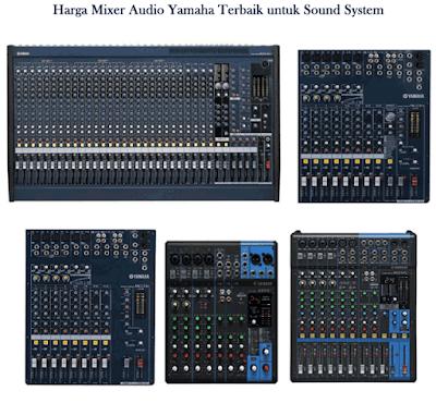 Harga Mixer Audio Yamaha Terbaik untuk Sound System