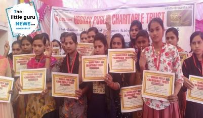 उद्भव चैरिटेबल ट्रस्ट ने किया प्रतिभा सम्मान समारोह का आयोजन
