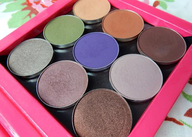 Makeup Geek Palette Swatches
