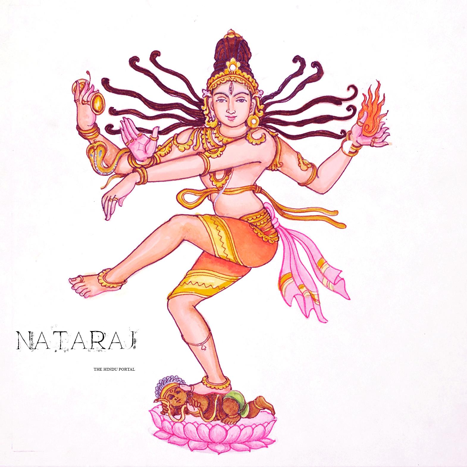 The cosmic dance of Shiva or Nataraja
