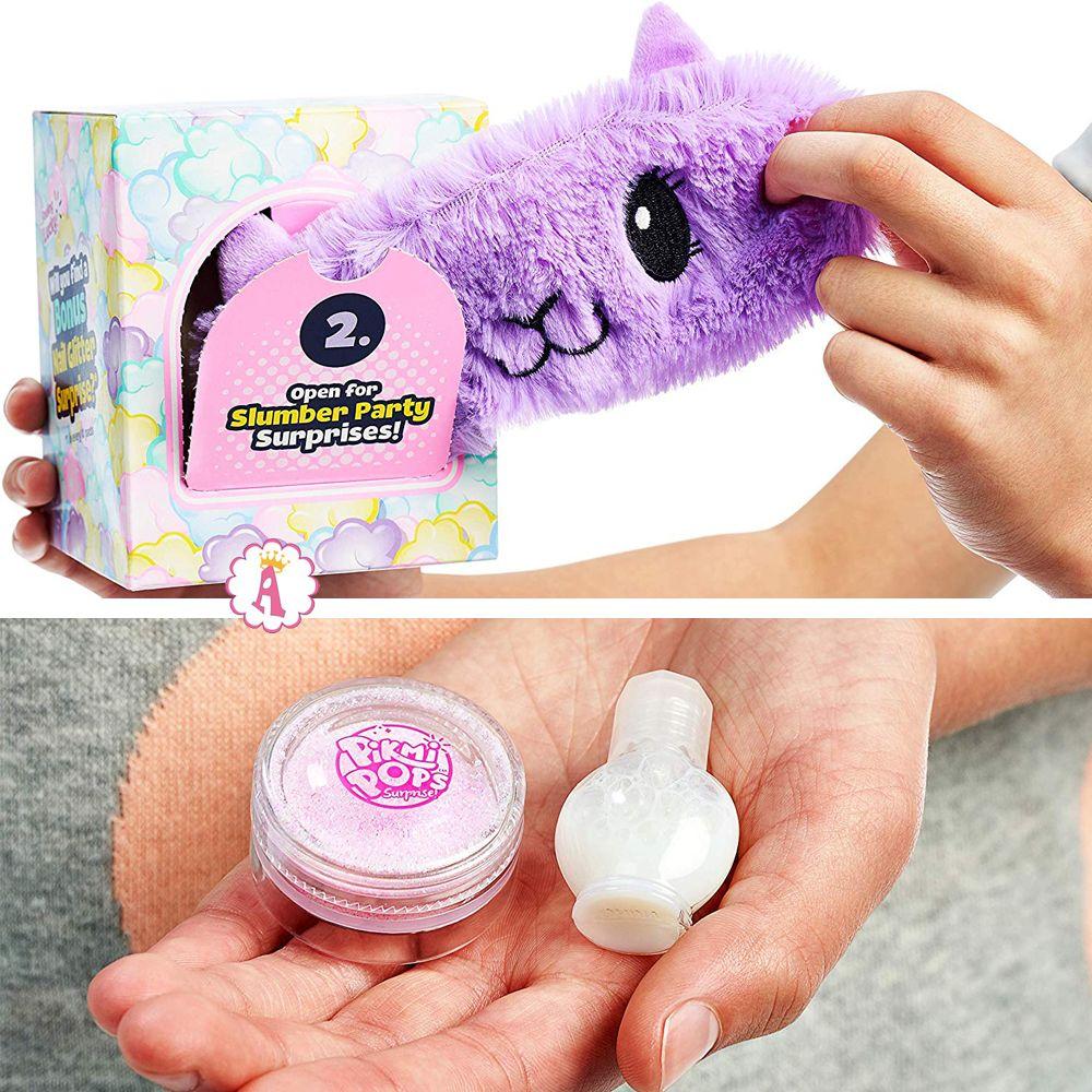 Повязка на глаза лама и блестки для ногтей Giant Pajama Llama