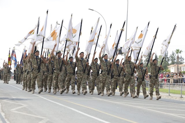 Ολοκλήρωση Στρατιωτικής Παρέλασης για την 61η Επέτειο Ανεξαρτησίας της Κυπριακής Δημοκρατίας-Οι αναρτήσεις Α/ΓΕΕΦ στο twitter (ΦΩΤΟ)