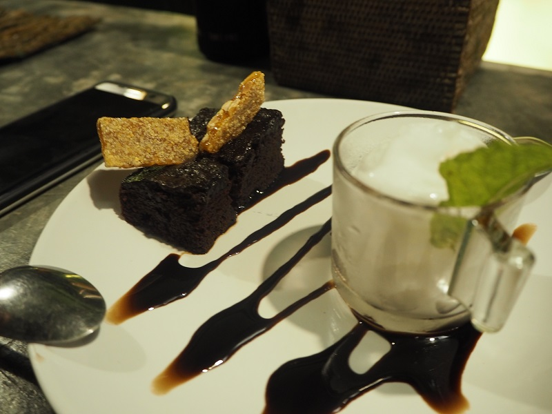 time for lime dessert brownie