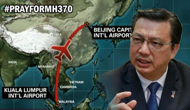 @LiowTiongLai Kerajaan Tetap Komited Misi Pencarian #MH370 #MCA