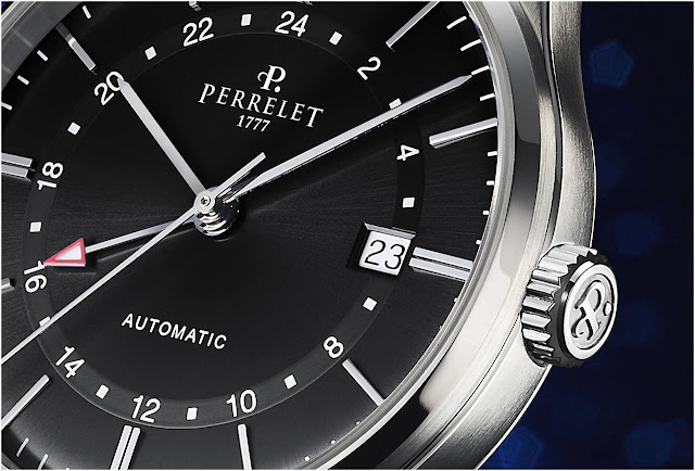 Perrelet Weekend GMT