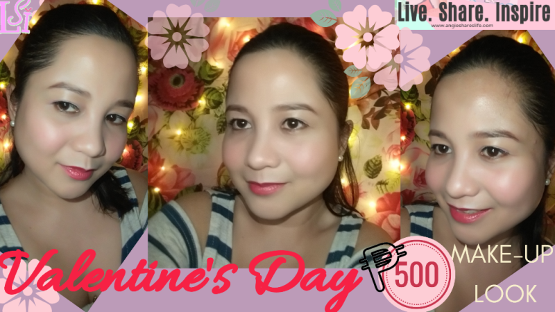 500 Peso Valentine S Day Makeup Look Live Share Inspire