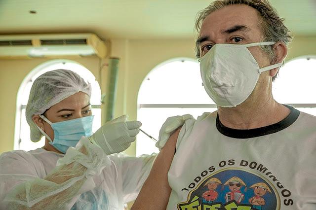 Prefeitura de Santarém imunizou 10.297 pessoas contra covid-19 em 14 horas de vacinação