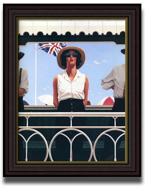 Artist Jack Vettriano - Bird on the wire