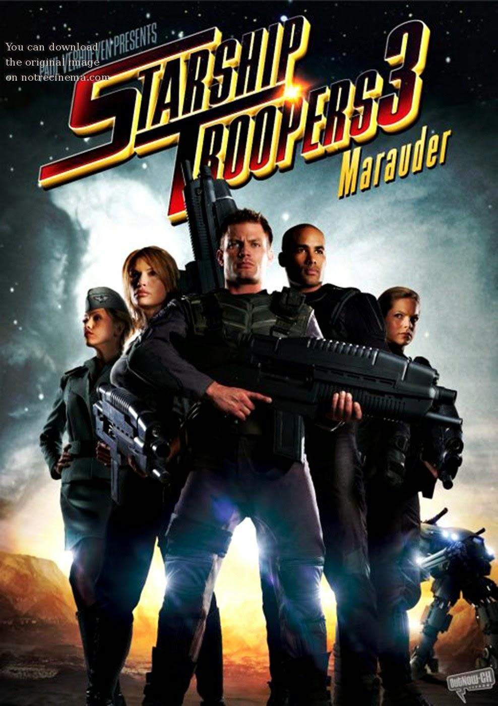 Starship Troopers 3: Marauder สงครามหมื่นขา ล่าล้างจักรวาล 3 [HD][พากย์ไทย]