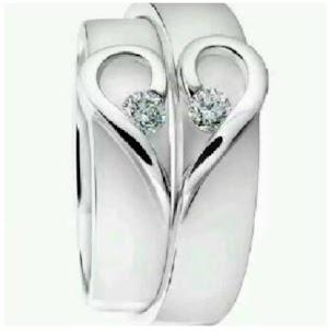 Cincin nikah couple dan cincin kawin palladium cincin emas cincin perak murni cinci
