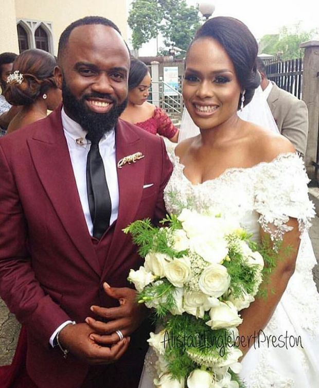 Image result for noble igwe and wife married for how long