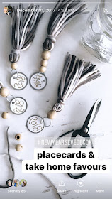 Boho Yarn and Wood Bead Tassel   personallyandrea.com #craft #bohochic #accessory