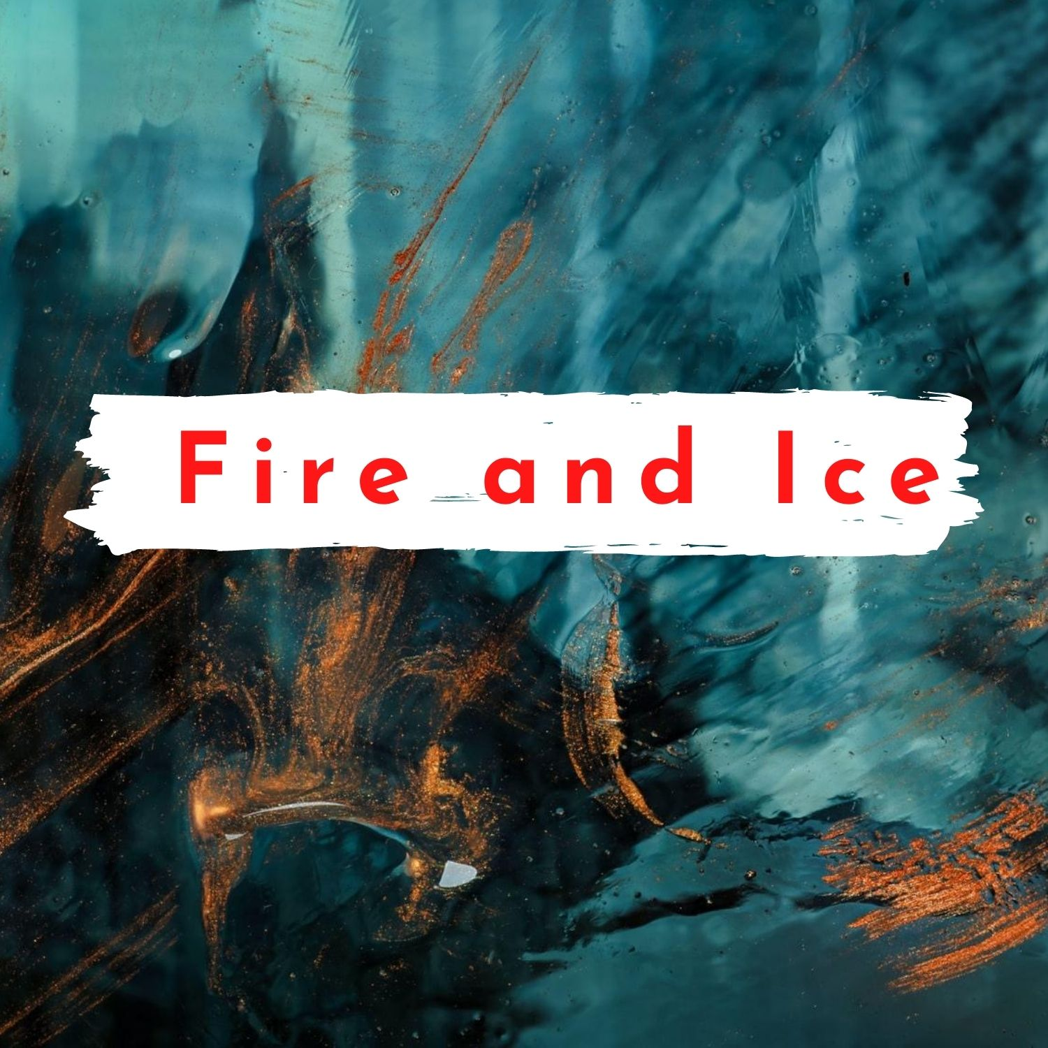 fire and ice short poem