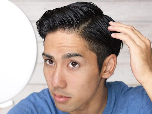 Cara meningkatkan volume rambut pria