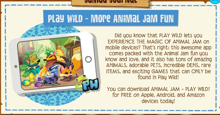 Animal Jam Legendary Palooza