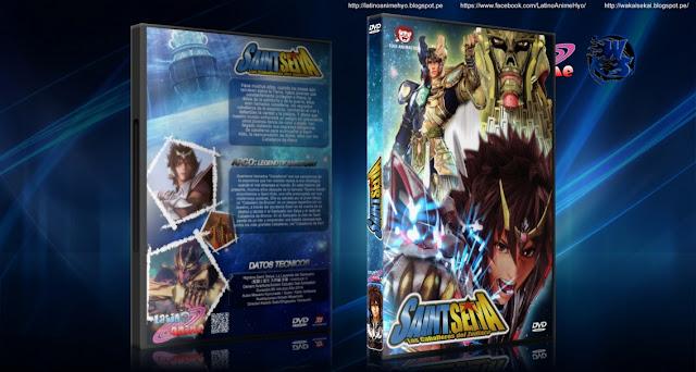 Saint Seiya Legend of Sanctuary (2014) DVD9 | NTSC | 5.4 GB | Audios: Español Latino, Japonés | Subtítulos: Español | Animación | 2014 | MEGA |