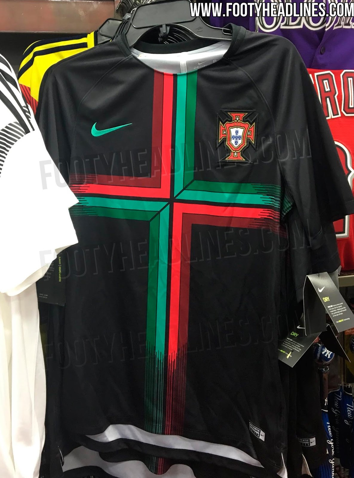 stunning portugal 2018 world cup pre match jersey leaked footy headlines. Black Bedroom Furniture Sets. Home Design Ideas