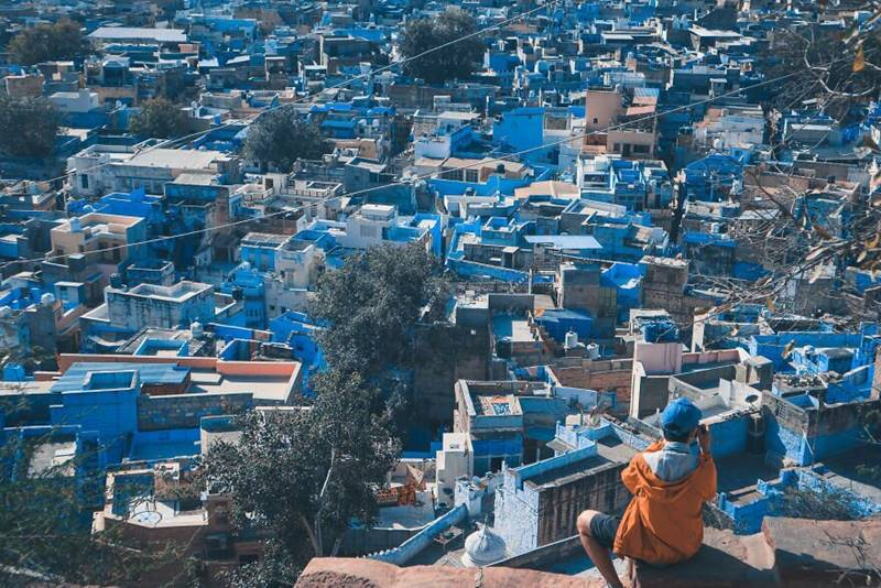 Jodhpur, also known as Sun city