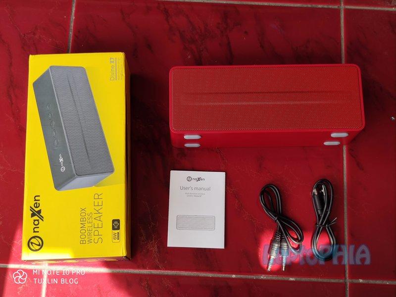 Paket Pembelian Naxen X7 Boombox